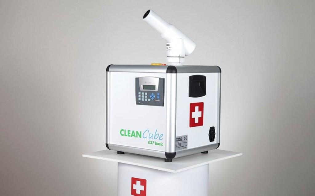 Disinfezione dell'aria Clean Cube